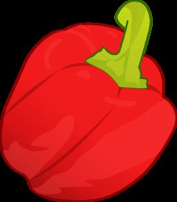 Capsicum clipart bell pepper Art clip red Capsicum (58+)