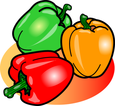 Capsicum clipart bell pepper Food Image: Christart Clip Peppers