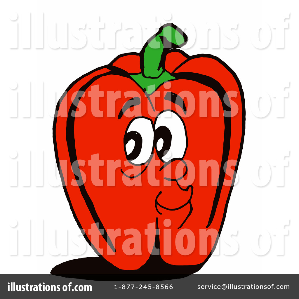 Capsicum clipart bell pepper By Bell LaffToon Illustration (RF)