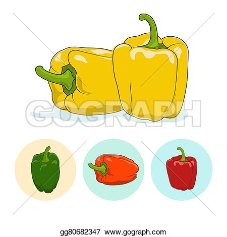 Capsicum clipart bell pepper Bell Clipart sweet or bell