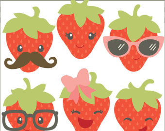 Berry clipart cute Art and  Set Set