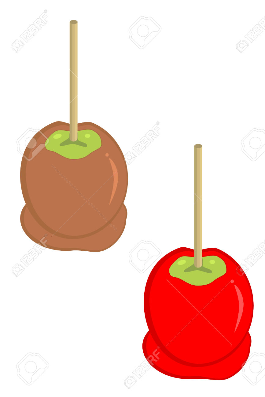 Caramel clipart candy apple And Apples caramel Candy Clipart