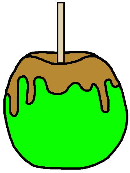 Caramel clipart candy apple Apple Candy Clipart Clipart Apple