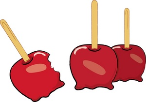 Caramel clipart candy apple Apples Candied Clipart Candied Candied