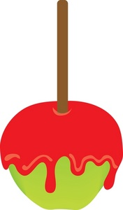 Caramel clipart candy apple Apple Candy Clipart Green clipart