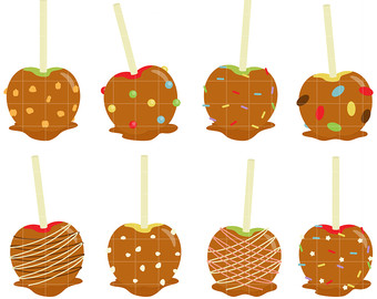 Caramel clipart candy apple Apple Candy Clipart 101 caramel