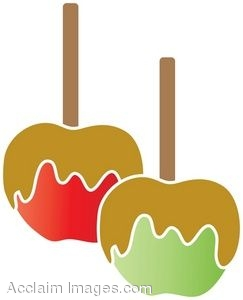 Caramel clipart wrapped candy Candy Funny Apple cliparts Clipart