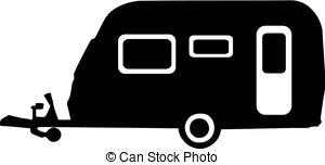 Caravan clipart Illustration Images  Caravan Stock