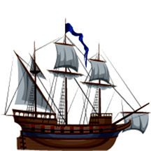Caravel clipart Some has Ship definition masted
