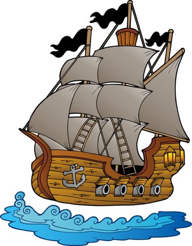 Caravel clipart cute #11