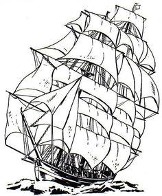 Caravel clipart fleet #5