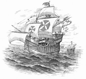 Caravel clipart small Of Download A Clip Caravel