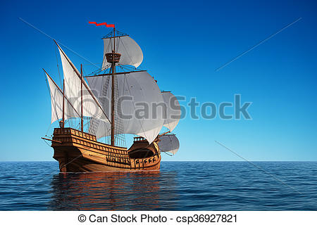 Caravel clipart small #12