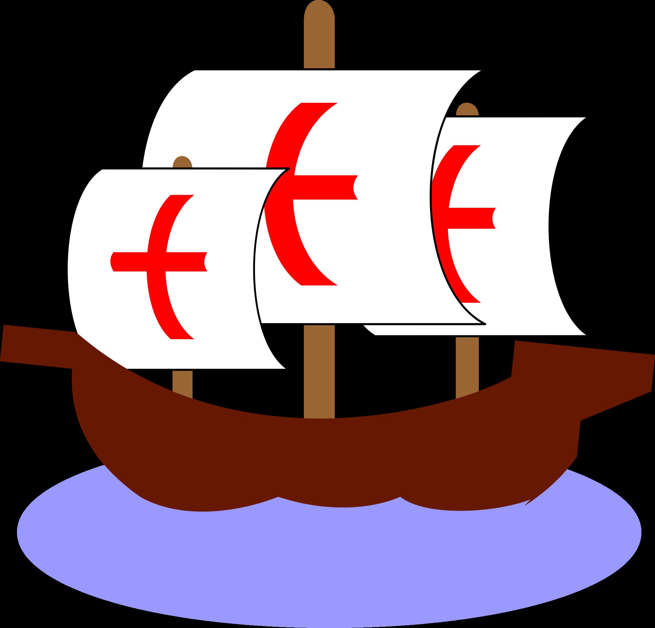 Caravel clipart small Clipart Caravel (Carabela) (Carabela) Caravel