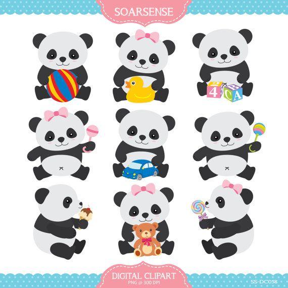 Card clipart baby panda Best pandas Baby $5 on