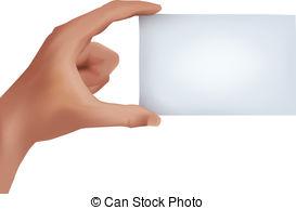 Card clipart business card A  business between blank