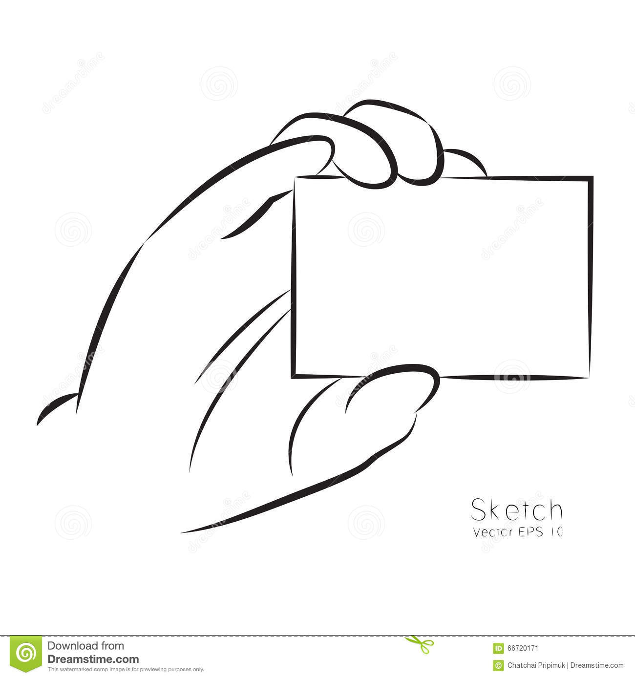 Card clipart business card Business clipart cards Business Hand