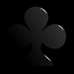 Club clipart card Card art Symbol Clip Symbol