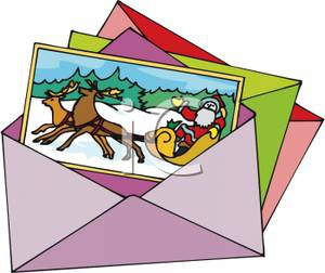 Card clipart cristmas Card Greetings Embed free rf
