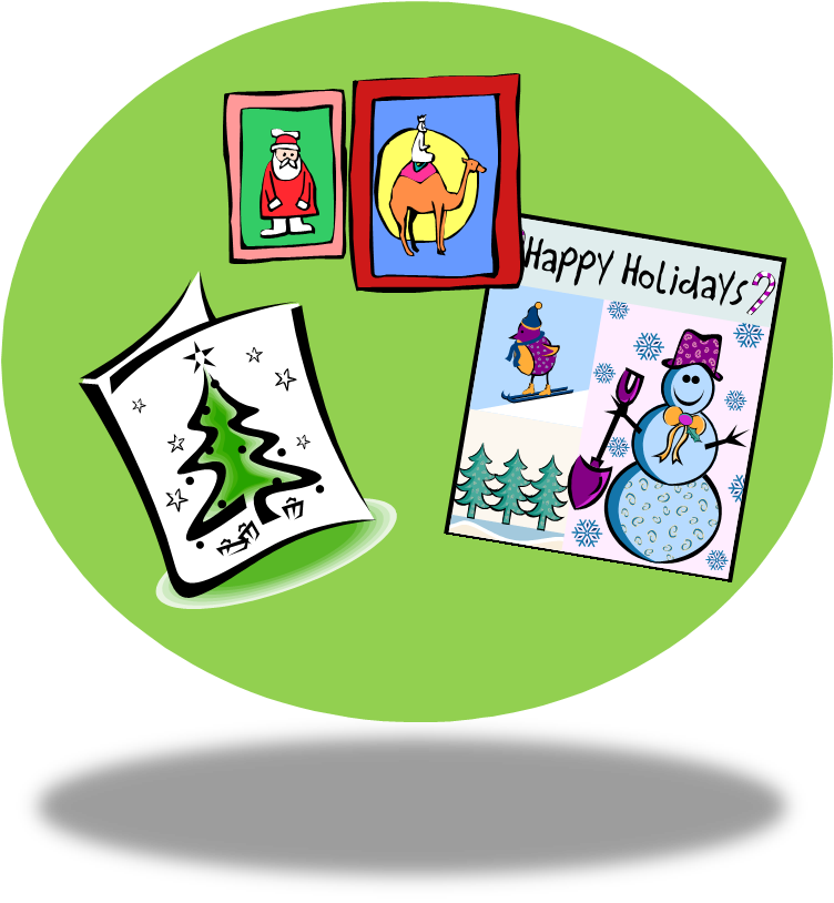 Card clipart cristmas You pizzazz right Well cards?