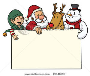 Card clipart cristmas Picture: Cute with Cute Characters