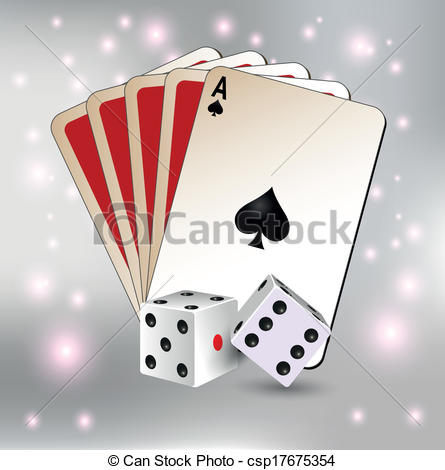 Dice clipart question mark And and dice card playing