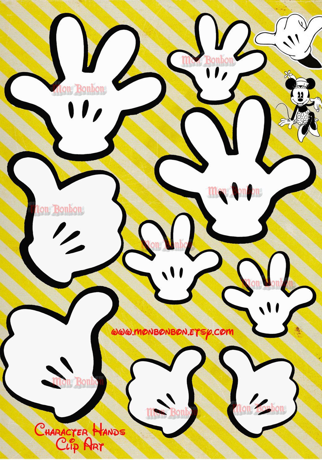 Card clipart gloved hand DOWNLOAD Hands card Inspired Digital