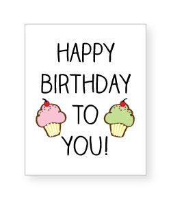 Cards clipart happy birthday Banners signs Birthday favor ♫
