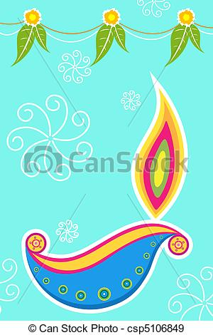 Card clipart happy diwali #6