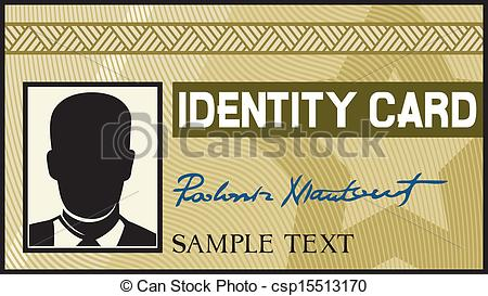 Card clipart identity #4