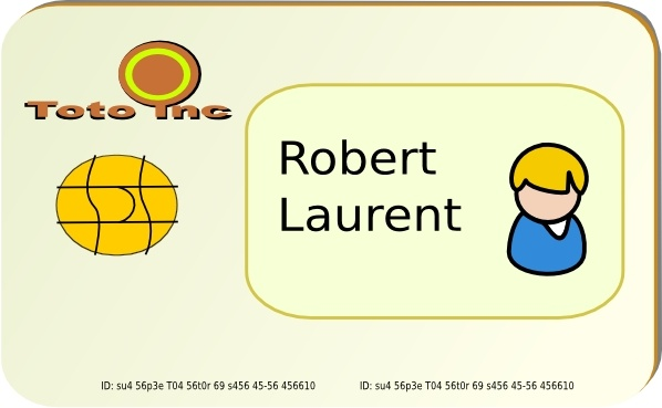 Card clipart identity #7