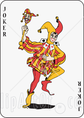 Cards clipart joker Clipart Clipart Playing Card Playing