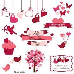 Card clipart st valentine Kate cuttables Clipart st Art
