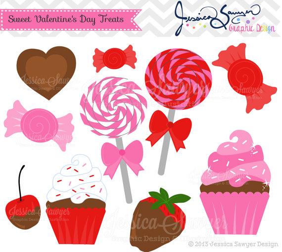 Card clipart valentine cookie Clip Valentine's Day Day Lollipop
