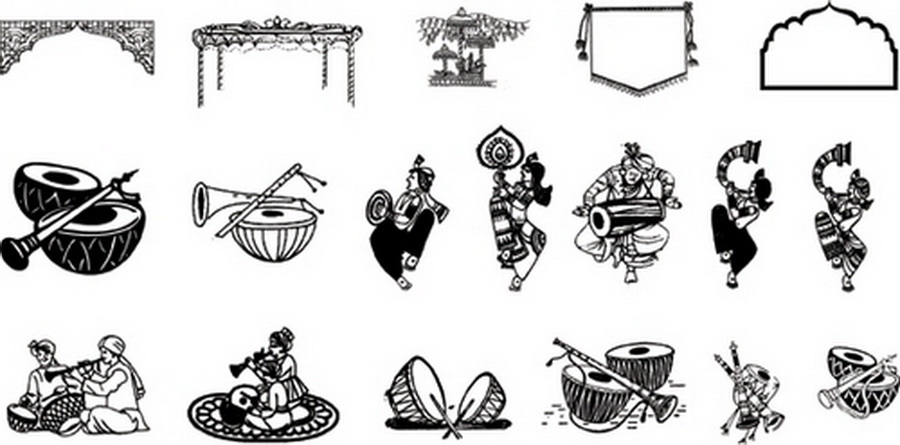 Cards clipart color Greeting Wedding com Clipart Card