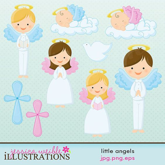 Cards clipart angel Card by by for JWIllustrations