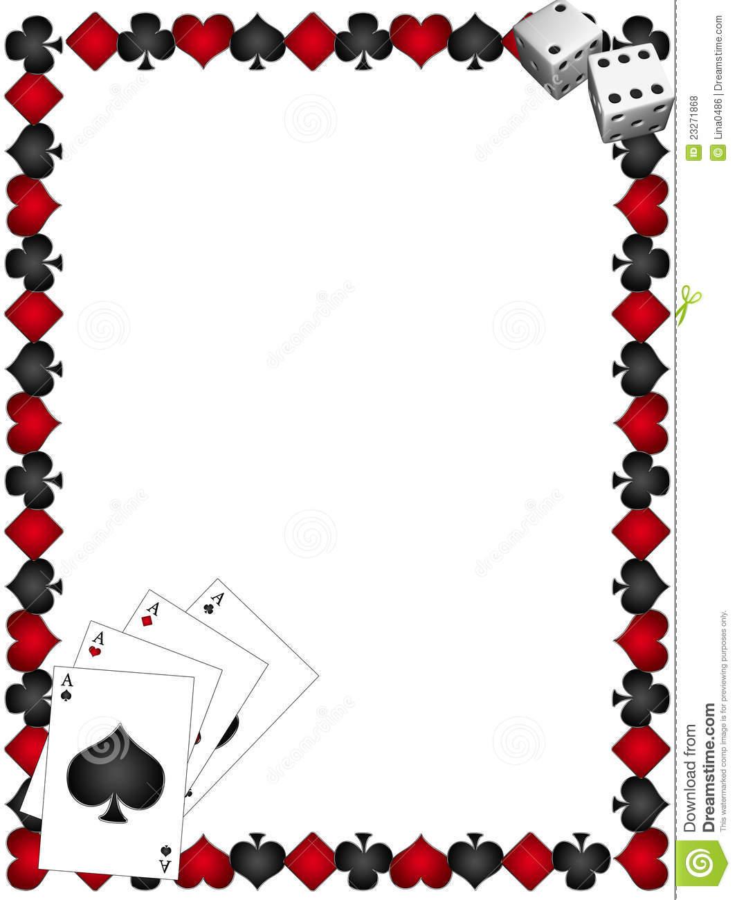 Dice clipart rolled Clipart borders Casino clipart clip