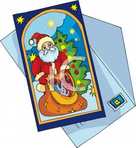 Cards clipart greeting card Christmas Greeting clipart Royalty Free