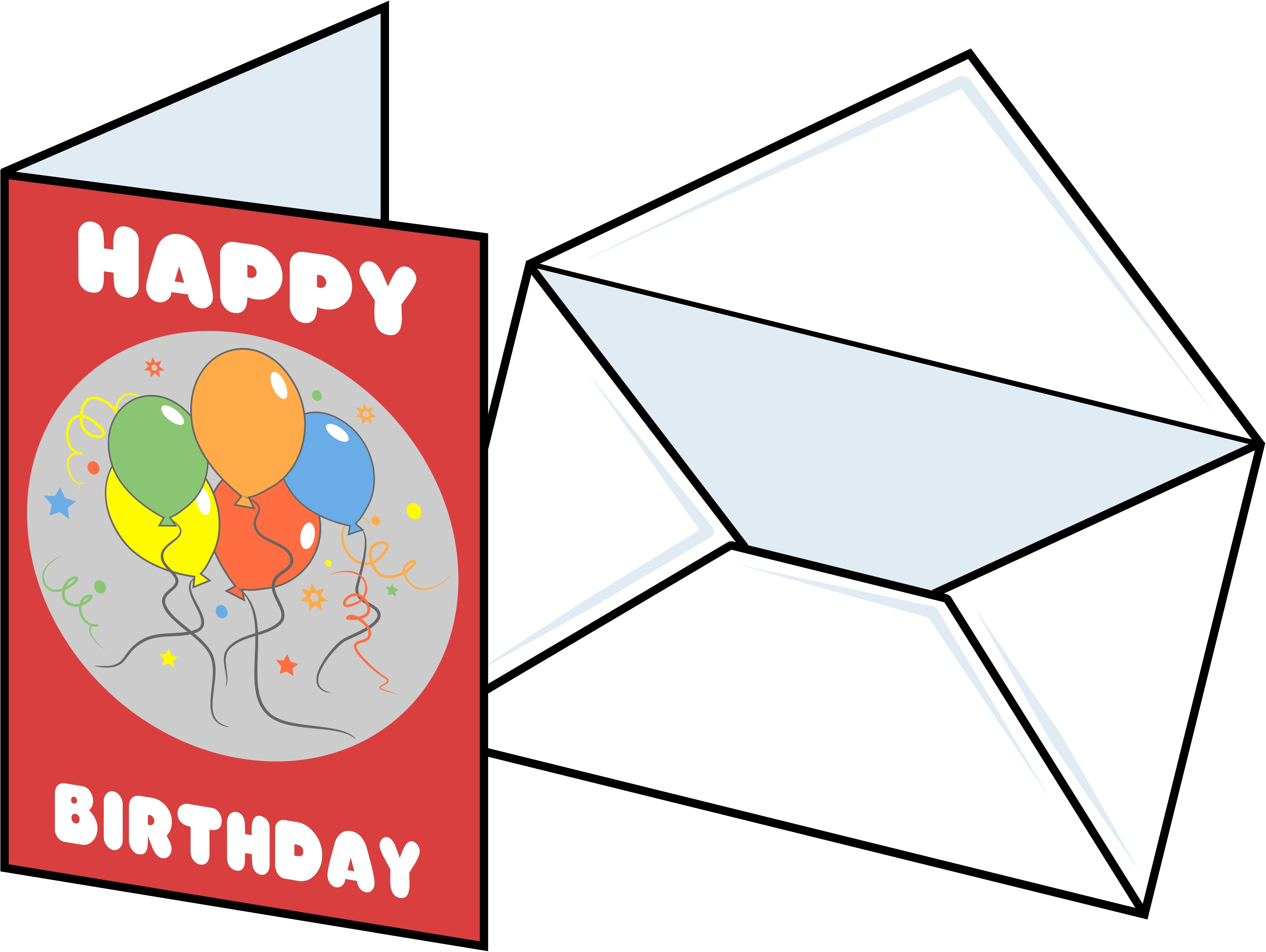 Cards clipart greeting card Animated Birthday Free Ideas Free