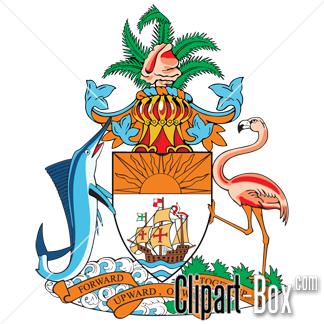 Caribbean clipart bahamas CLIPART Caribbean BAHAMAS ARMS ARMS