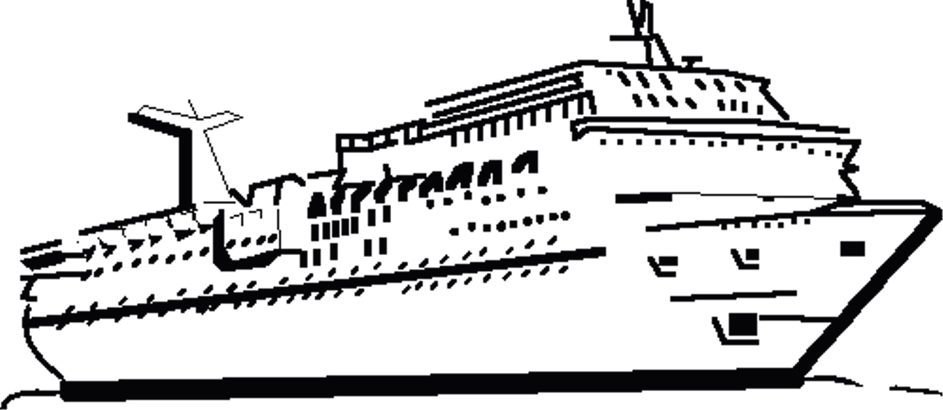 Cruise clipart black and white Com punchaos cruise carnival nice
