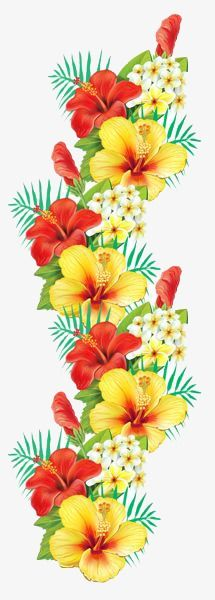 Caribbean clipart flower decoration  roze Pink Exotic Exotic