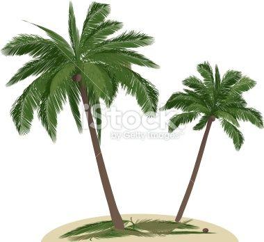 Islet clipart khajur Palmtrees tree images Clip Illustration