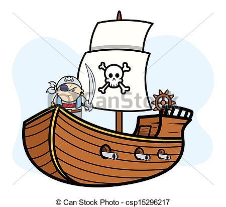 Caribbean clipart pirate captain Captain Ship  Ship Captain
