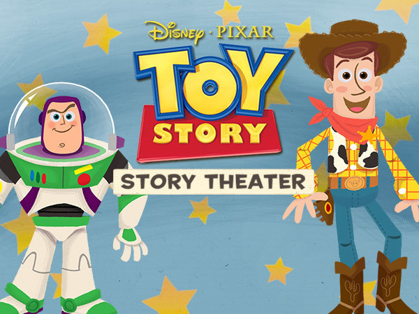 Caribbean clipart story setting Toy Theater Story: Story Disney