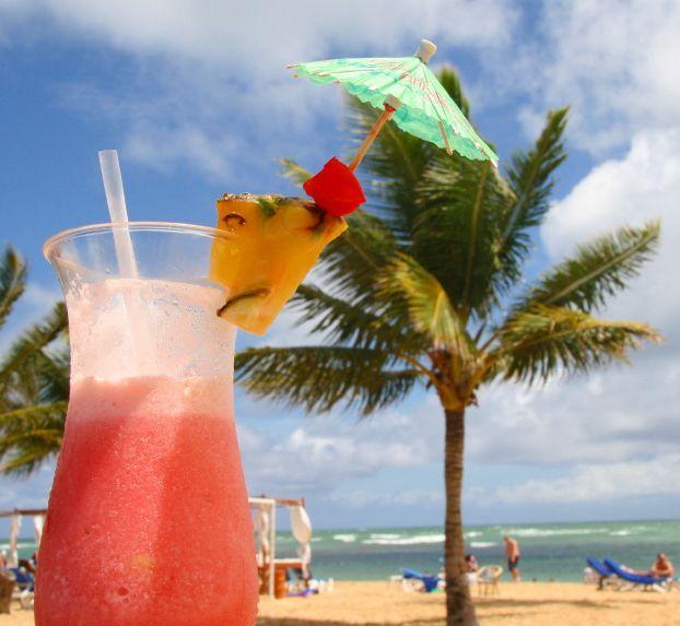 Caribbean clipart umbrella drink Images Sand palm umbrella and