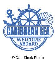 Caribbean clipart vector Caribbean 3 788 stamp the