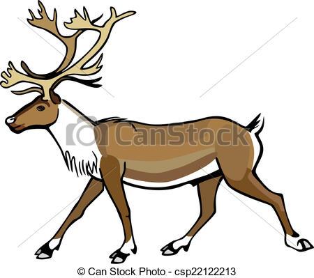 Caribou clipart #14
