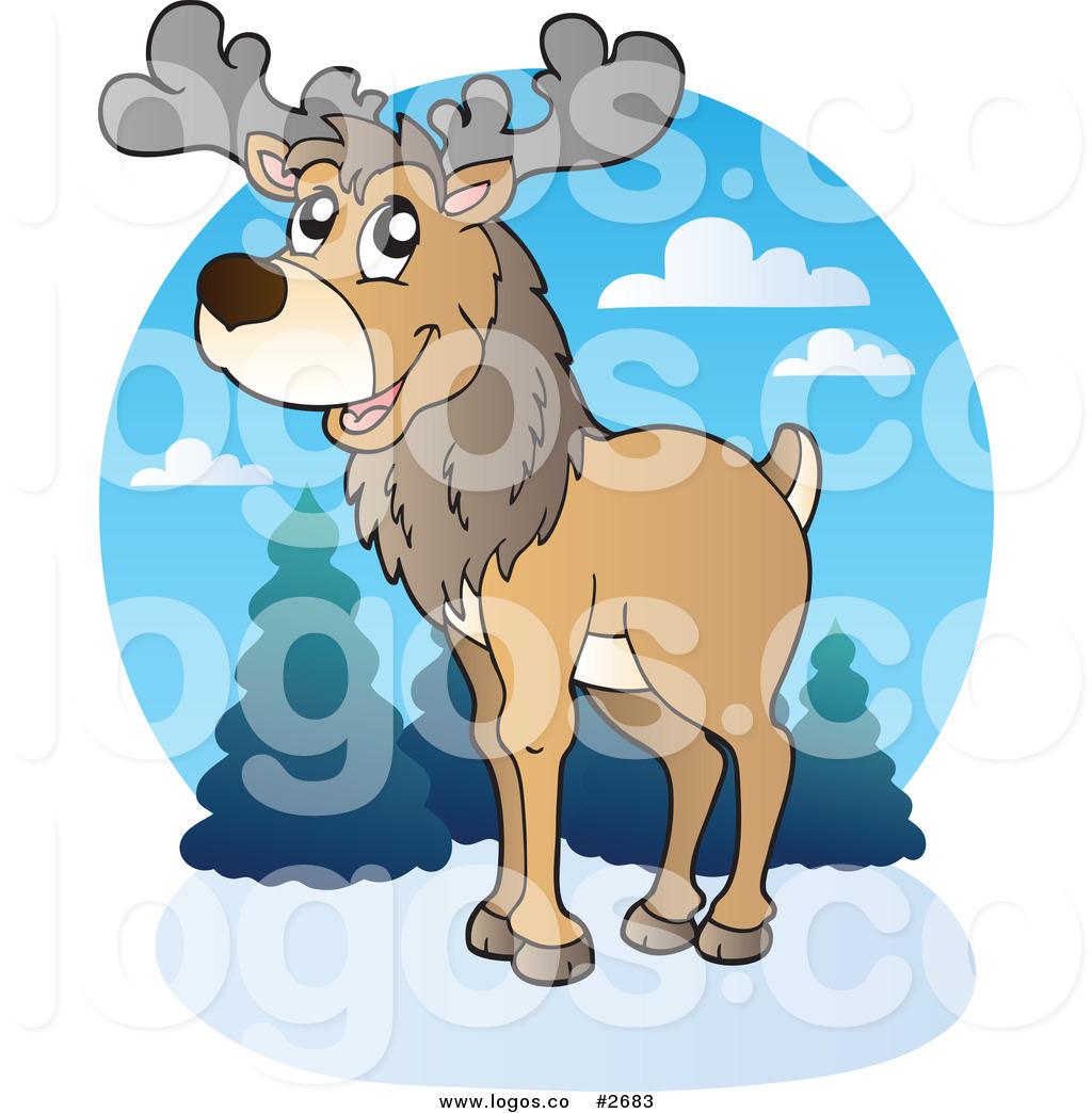 Caribou clipart artic animal Animal Logo Free Royalty Arctic