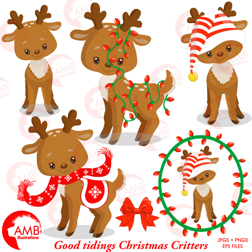 Caribou clipart baby deer Photo#28 Baby clipart Caribou caribou